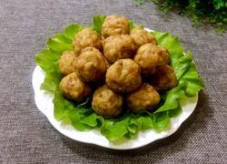 豆腐猪肉丸子