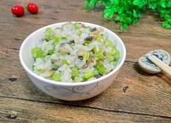 西芹口蘑炒米饭