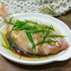 清蒸红立鱼