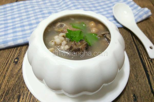 薏米香菇排骨汤