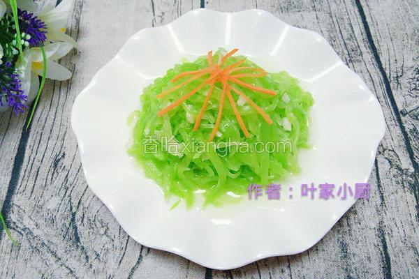 清炒莴笋丝
