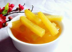橙汁萝卜条