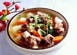 萝卜清炖羊肉