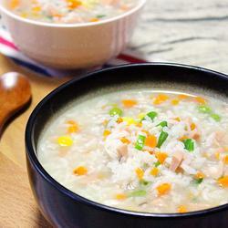 田园蔬菜粥