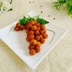 红薯泥葡萄