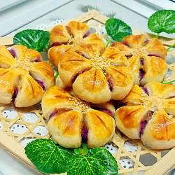 香芋梅花酥