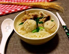 肥牛肉丸汤面[图]