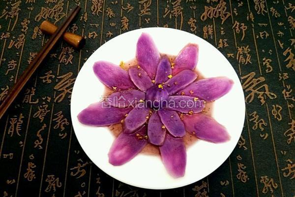 蓝莓汁紫山药