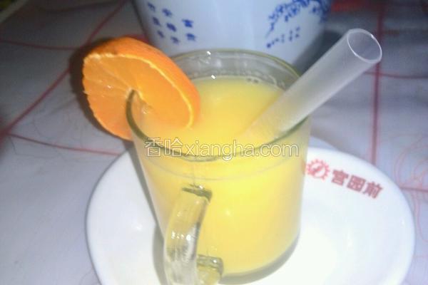 蜂蜜橙子汁