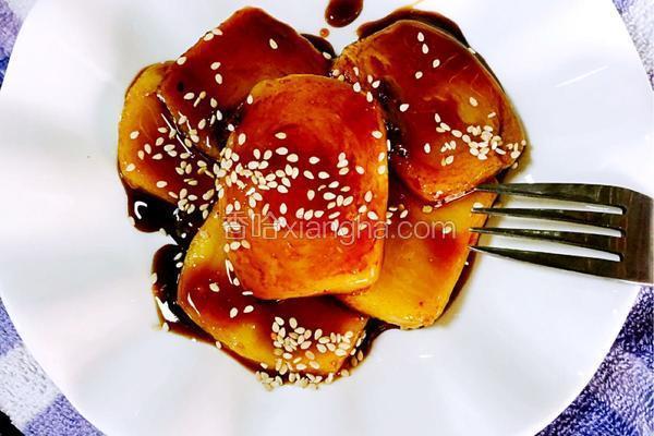 红糖芝麻年糕