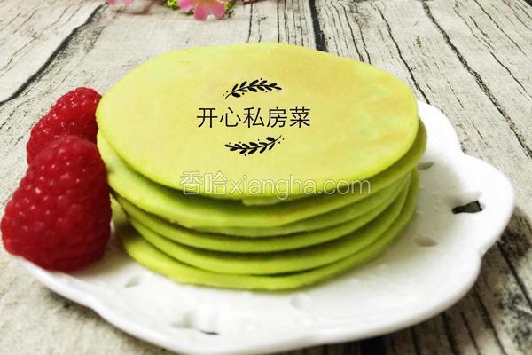 青瓜汁鸡蛋煎饼