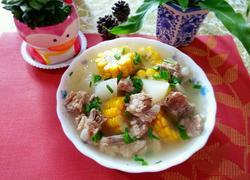 白萝卜玉米排骨汤