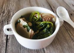 西洋菜陈肾扇骨汤