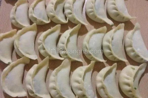 鲍鱼海螺饺子