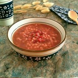 高粱米红豆粥
