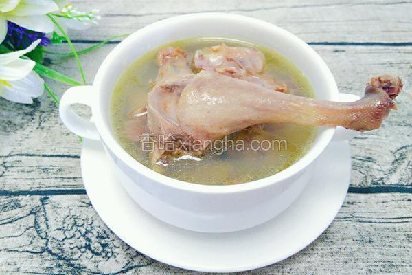 茶油炖本地鸭