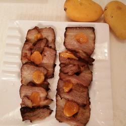 蜜汁蛋黄烤肉