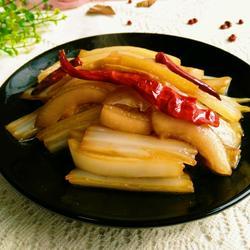 肥肉膘炖白菜