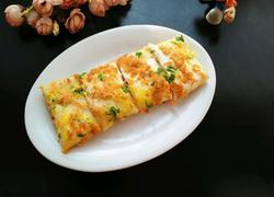 鸡蛋肉松饼(电饼铛版)