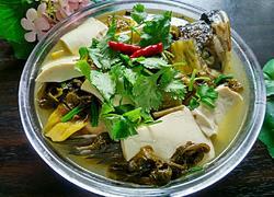 酸菜豆腐鱼头汤