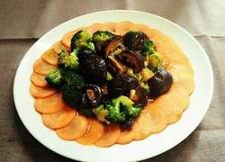 蚝油香菇西兰花