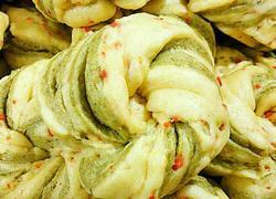蔬菜双色玉米卷