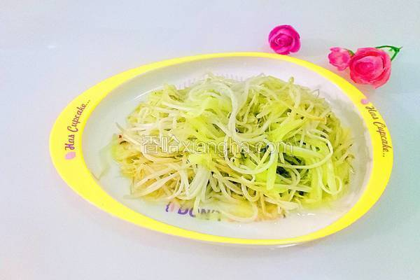 清炒绿豆芽