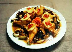 香菇蒸鸡翅根