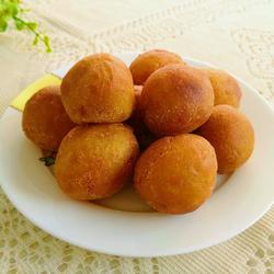 黍粉红薯球