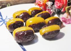 南瓜糯米酿红枣