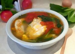 西红柿煎蛋汤