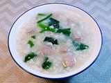 菠菜猪肝粥的做法[图]