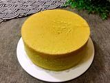 菠菜汁戚风蛋糕-八寸的做法[图]