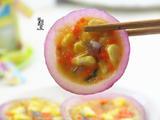 10分钟快手创意早餐-洋葱圈蛋卷的做法[图]