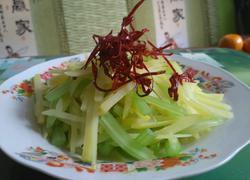 炝芹菜土豆丝