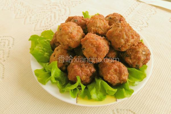 香菇猪肉丸