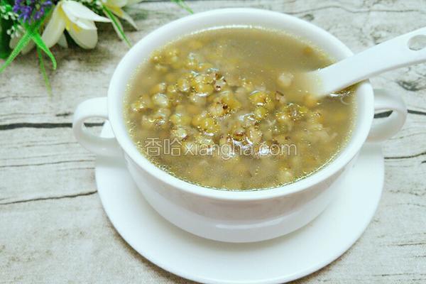 茶油绿豆汤