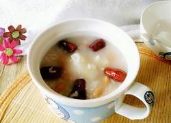 红枣花生粥