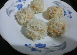 胡萝卜肉末豆腐水晶丸