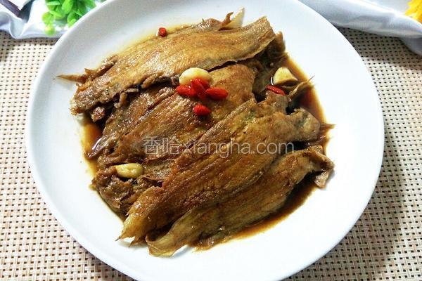 红烧鳎目鱼