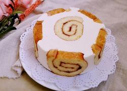 蛋糕卷奶酪慕斯(六寸)