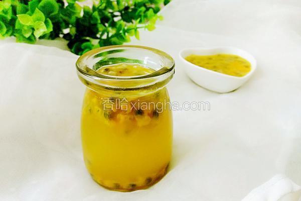 蜂蜜百香果汁