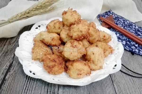 炸萝卜豆腐肉丸