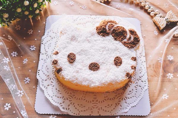 kitty清水蛋糕