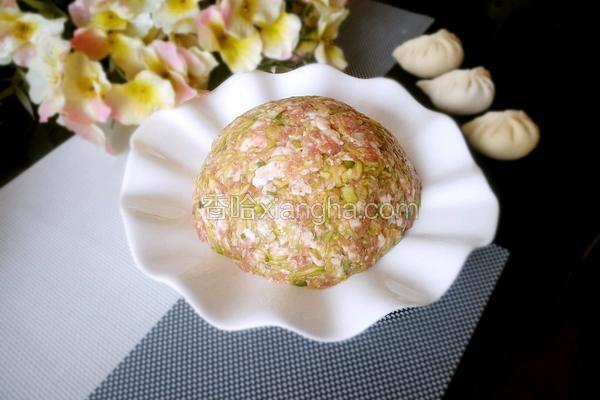 西葫芦猪肉大葱饺子馅