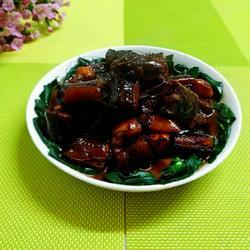 蒜子红烧黄鳝