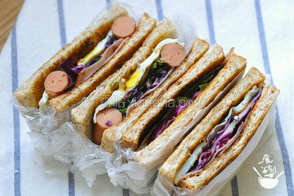 口袋土司三明治