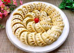 韭菜鲜肉馅饺子