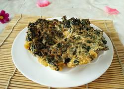 香椿鸡蛋饼