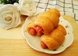 红萝卜泥热狗馒头